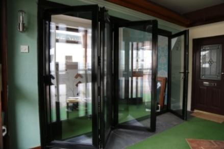 bi-folding sliding door