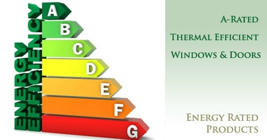 thermal efficient window and doors